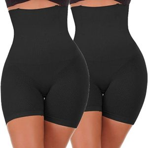 NINGMI Femme Panties Culotte Taille Haute Gainante Minceur Ventre Plat Efficace sous-vêtements
