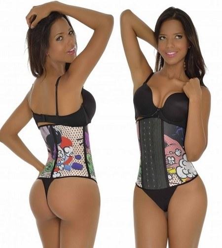 S'armer de patience pour s'habituer au corset amincissant